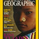 National Geographic September 2000 Rhana Tharu:Nepal's Women Of Grace