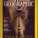 National Geographic April 2001 Pharaohs of the Sun