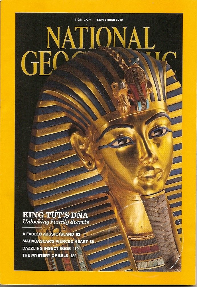 National Geographic September 2010 King Tut S Dna