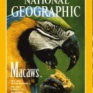 National Geographic January 1994-Macaws