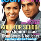 TEEN VOGUE MAGAZINE AUGUST 2010 DEMI LOVATO & JOE JONAS