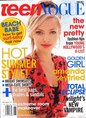 Teen Vogue June-July 2010 - Amanda Seyfried