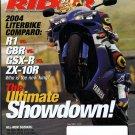 Sport Rider June 2004-The Ultimate Showdown