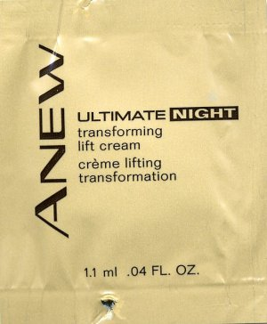 Avon Anew Ultimate Night Transforming Lift Cream Sample