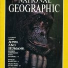 National Geographic March 1992-Apes And Humans