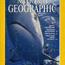 National Geographiic January 1995-Gray Reef Sharks W/Map:Egypt's Nile Valley