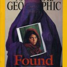 National Geographic April 2002-Found Afghan Girl