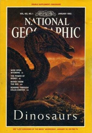 National Geographic January 1993-Dinosaurs