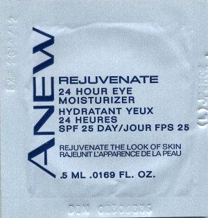 Avon Anew Rejuvenate 24 Hour Eye Moisturizer SPF 25 Sample