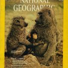 National Geographic May 1975-The Life Of A Baboon Troop