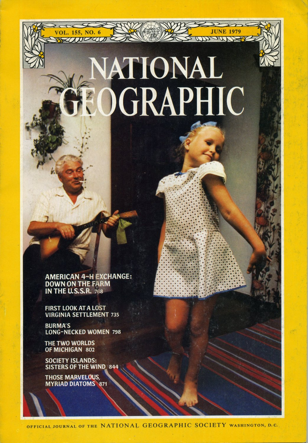 National Geographic June 1979-American 4-H Exchange:Down On The Farm In The U.S.S.R.