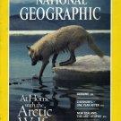 National Geographic May 1987-Arctic Wolf, Ukraine, Chernobyl, New Zealand