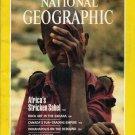 National Geographic August 1987-Africa's Stricken Sahel
