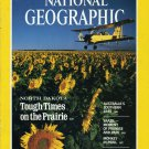 National Geographic March 1987-North Dakota:Tough Times On The Prairie