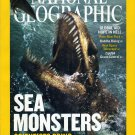 """National Geographic December 2005-Sea Monsters Scientists Bring """"Godzilla"""" Back To Life"""