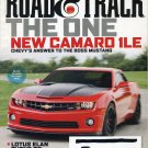Road & Track Magazine New Camaro 1LE December 2012 112132R
