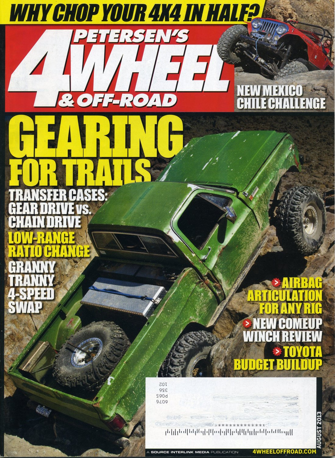 Pre Owned Trucks >> Peterson's 4 Wheel & Off Road Magazine August 2013