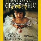 NATIONAL GEOGRAPHIC September 1990 MANILA GALLEONS Ellis Island BROADWAY Forests