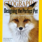 National Geographic March 2011 Designing the Perfect Pet -Fossils