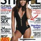 Shape Magazine April 2014 Naomi Campbell, Achieve Your Dreams, Slim in 24 Min.