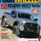 FOUR WHEELER magazine April 2014 RAM 2500 Top Truck Challenge 1976 Ford F-250