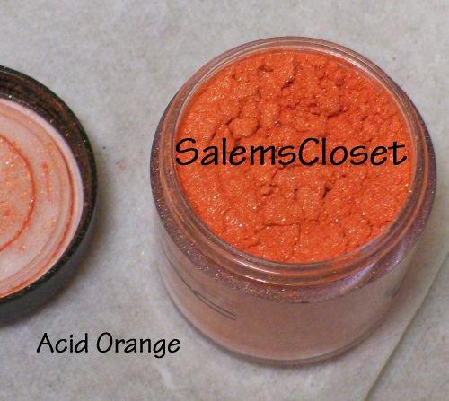 MAC Pigment SAMPLE ~Acid Orange~