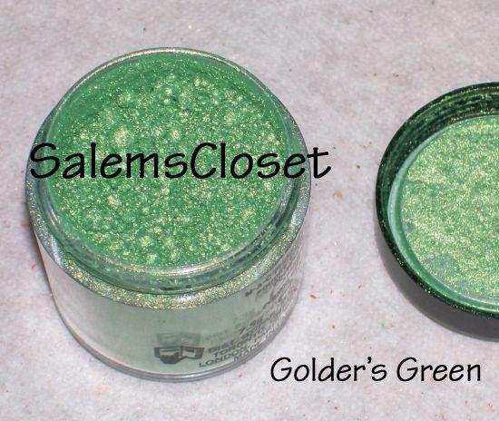 MAC Pigment SAMPLE ~Golder's Green~Disc.