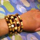 Natural Wood Elements bracelet