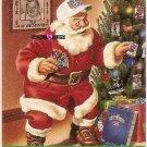 Football Trading Card Santa Claus Coach NFL Pro Set 1990