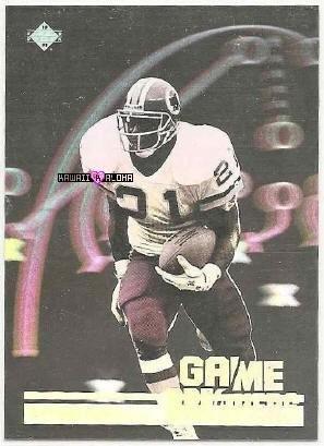 Upper Deck Trading Card Hologram Earnest Byner Football 1991