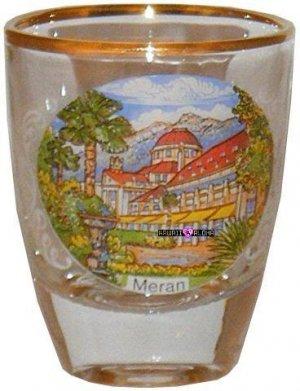 Europe Italy Meran Shot Glass Schnapps Glasses