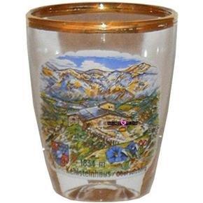 Kehlsteinhaus Obersalzberg Shot Glass Schnapps Glasses