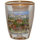 Ruhpolding Obb Germany Shot Glass Schnapps Glasses