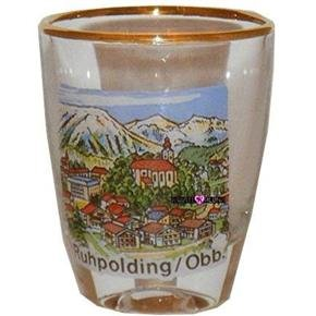 Ruhpolding Obb Germany Shot Glass Schnapps Glasses