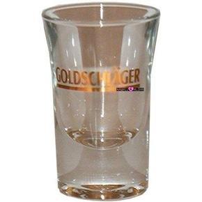 Goldschlager Jigger Shot Glass Schnapps Glasses Glas