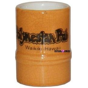 Polynesian Pub Tiki Waikiki Hawaii Shot Glass Schnapps Glasses