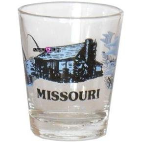 Missouri Shot Glass Schnapps Glasses USA Jigger