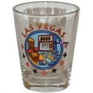 Las Vegas Fabulous Slots Casino Shot Glass Schnapps Glasses