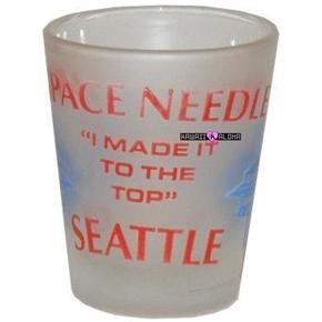 Seattle Space Needle Shot Glass Schnapps Glasses