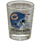 Chicago Bears Football Shot Glass Schnapps Glasses