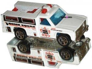 Hot Wheels Diecast Bomb Squad Emergency Truck 1974