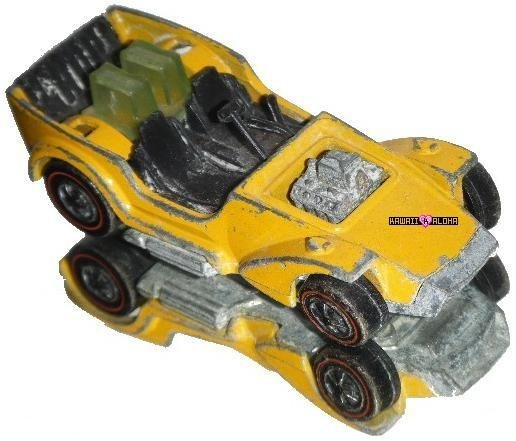 Hot Wheels Diecast Collector Ice T Yellow Redlines 1969
