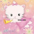 Kawaii Angel Akia Neko Kitty Cat Memos Notes Mini Pad Korea