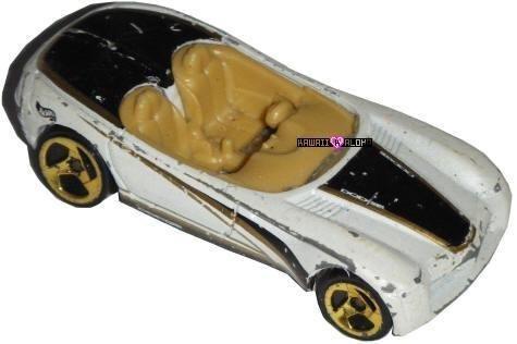 Hot Wheels Diecast Dodge Concept Car White Diecast 1998