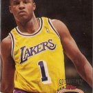 Topps Stadium Club Anthony Peeler Lakers Basketball Rookie Card 1993