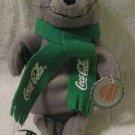 This is a Collectors 1998 Coca Cola Seal Bean Bag Plush