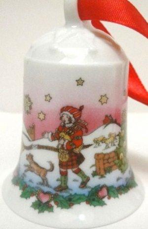 Hutschenreuther Ornaments Highlands Christmas Bell  2001