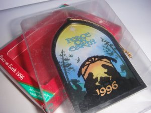 American Greetings Peace on Earth Ornament 1996