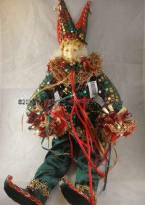 Jester Decorative Doll Bright Thailand Import