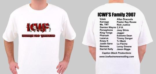 ICWF's 2007 Family T-Shirt